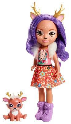 Большая кукла 31 см Enchantimals Данэсса Оленни и Спринт FXM75