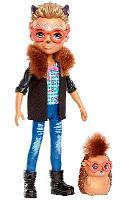 Кукла Enchantimals Хиксби Ежик и Поинтер FJJ22 Z1