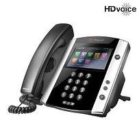 SIP телефон Polycom VVX 600 (2200-44600-025), фото 1