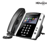SIP телефон Polycom VVX 600 and Polycom UCS Lync License (2200-44600-018), фото 1