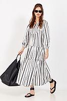 Женское летнее белое платье Favorini 31531 42р.