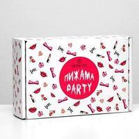 Подарочный набор Skinlite 'Пижама Party' гелевая маска для губ, маска для лица с восточными травами,