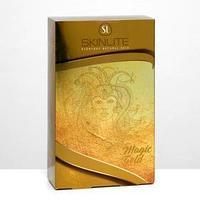 Набор Skinlite Magic Gold фольгированные патчи, фольгированная маска для лица, сыворотка
