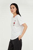 Фуфайка женская Finn Flare, цвет белый, размер 2XL