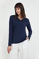Лонгслив женский Finn Flare, цвет темно-синий, размер XL