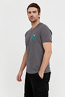 Футболка мужская Finn Flare, цвет серый, размер S