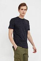 Поло мужское Finn Flare, цвет черный, размер S