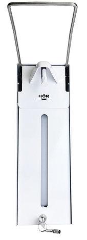 Диспенсер для антисептика локтевой антивандальный с замком HÖR-D-030A, фото 2