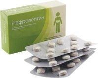 """""""Нефролептин""""- для лечения цистита, уретерита , таблетки, 50 шт."""