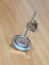 Термометр аналоговый с клипсой (0...110 °C), щуп 22, 11см