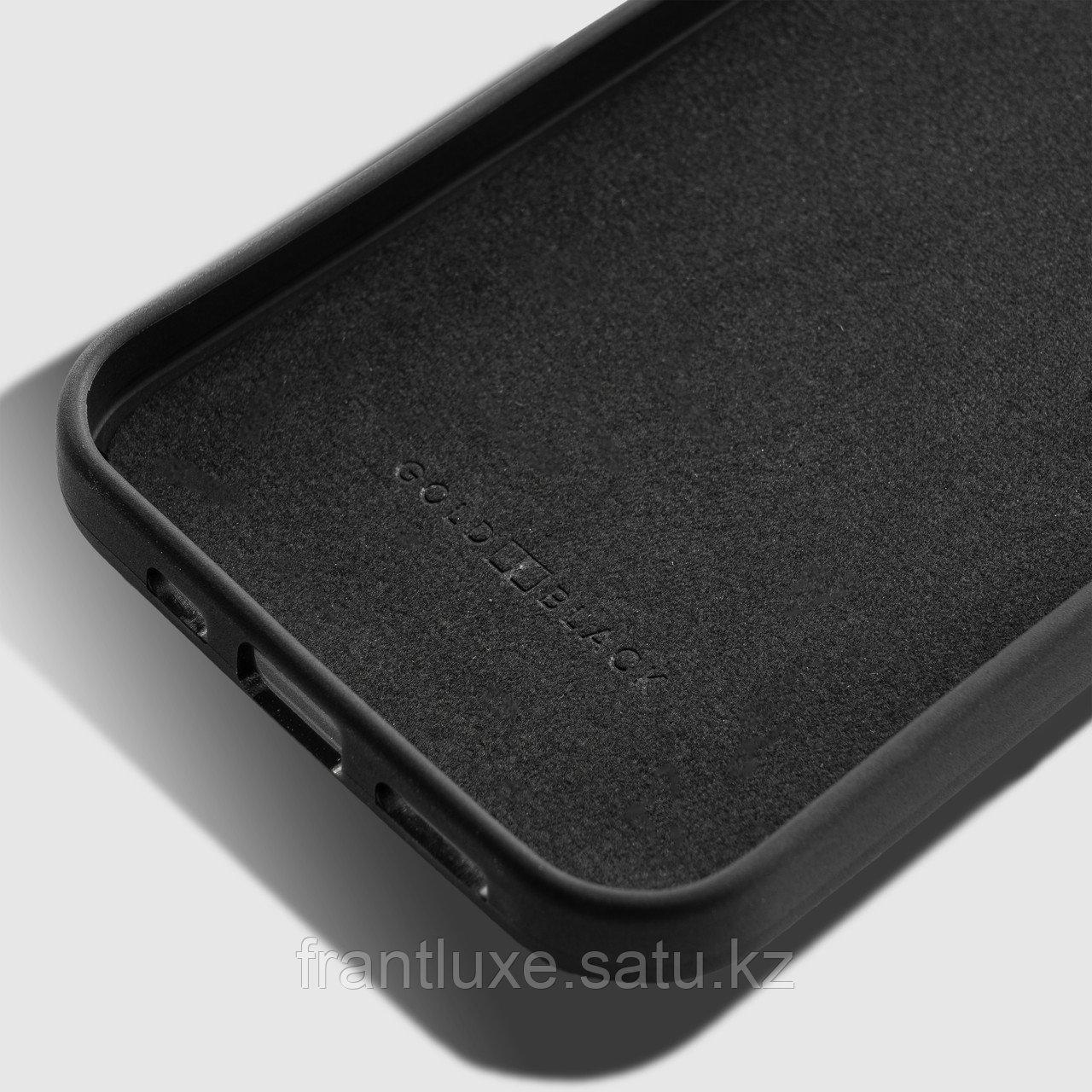 Чехол для телефона iPhone 12/12 Pro питон чёрный - фото 3