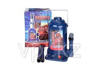 Домкрат гидравлический бутылочный, двухштоковый 150-350мм. 4т. Автомагнат