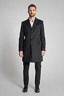 Мужское осеннее драповое серое большого размера пальто Gotti 060-5у 54р.
