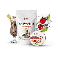 Скраб MOCHACCINO CHOCOLATE + крем для тела WILD CHERRY 250 г