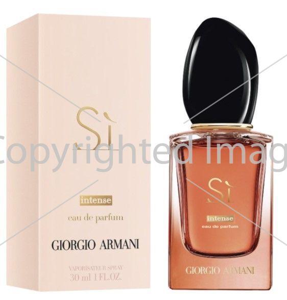 Giorgio Armani Si Eau De Parfum Intense парфюмированная вода объем 100 мл тестер (ОРИГИНАЛ)