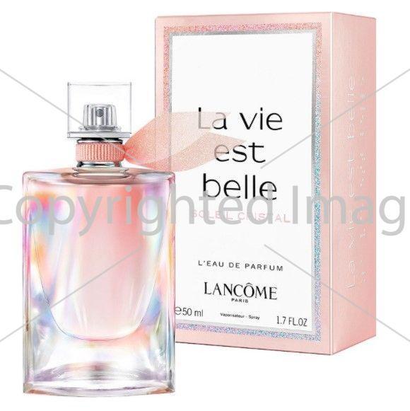 Lancome La Vie Est Belle Soleil Cristal парфюмированная вода объем 50 мл тестер (ОРИГИНАЛ)
