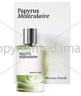 Maison Crivelli Papyrus Moleculaire парфюмированная вода объем 30 мл (ОРИГИНАЛ)