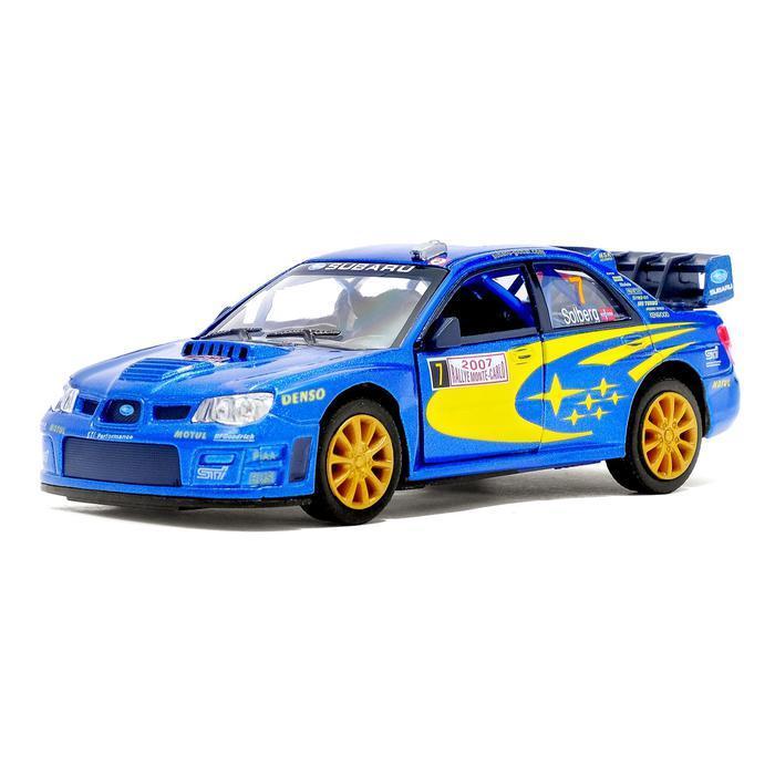 1/36 Игрушечная машинка Subaru Impreza WRC