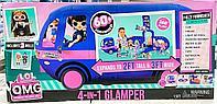 L.O.L.: Автобус Глэмпер 4-в-1 для мини-куколок