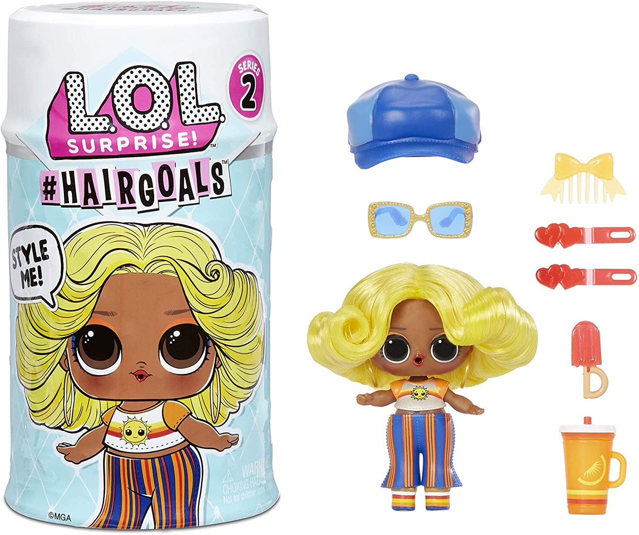L.O.L. Surprise!! #Hairgoals Makeover Series with 15 Surprises ЛОЛ с волосами