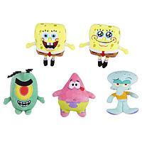 SpongeBob игрушка плюшевая 15 см (в ас-те)