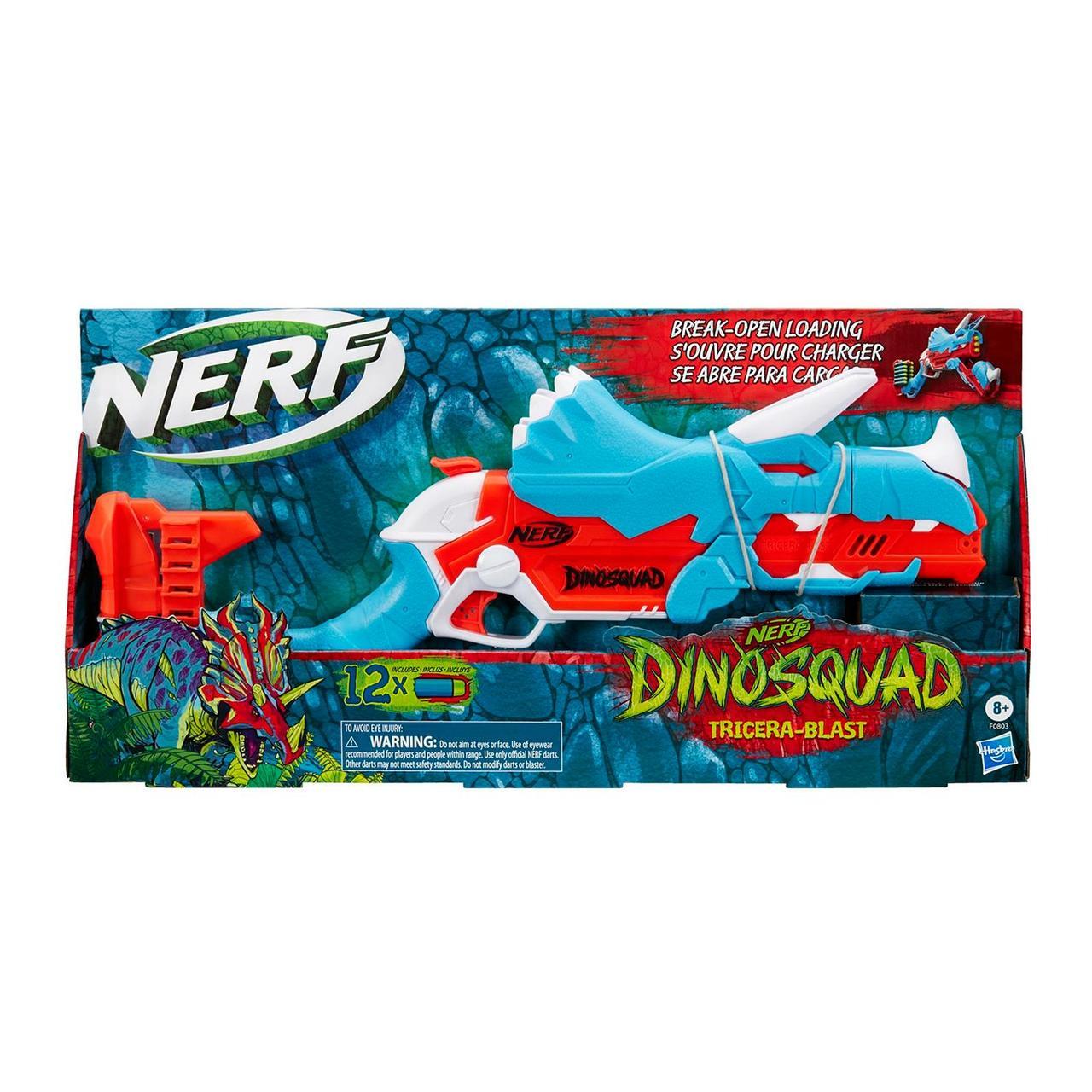 Hasbro Nerf Dinosquad Бластер Дино Трицерабласт, Нёрф