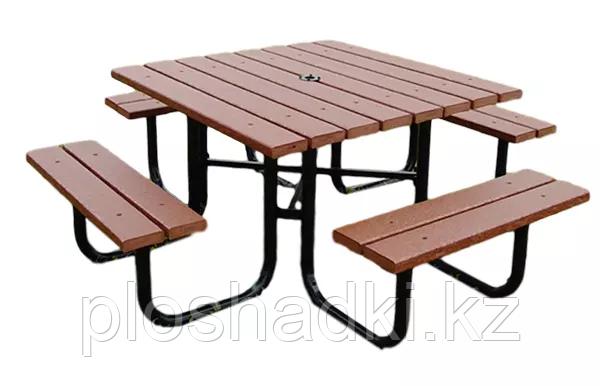 Лавочки со столом комплект