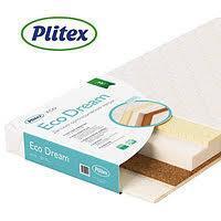 PLITEX Матрас в кроватку ECO LIFE (119х60х12см)