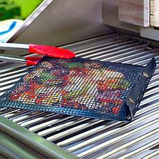 Антипригарный конверт-сетка для барбекю 33.5x27 см Дачный сезон!, фото 2