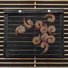 Антипригарный конверт-сетка для барбекю 33.5x27 см Дачный сезон!, фото 3