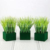 Искусственная трава для декора с регулирующей длиной 32-42 см (1 пучок)