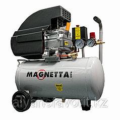 Magnetta, CE624, Компрессор воздушный масляный поршневой с прямым приводом, 24 л