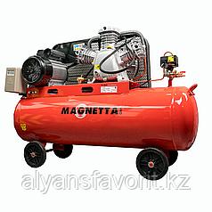 Magnetta, SW0.36/10, Компрессор воздушный поршневой масляный с ременным приводом