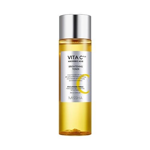MISSHA Vita C Plus Brightening Toner, 200ml Тонер осветляющий на основе витамина С