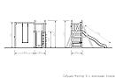 Детская площадка Савушка Мастер-6 с качелями, фото 10