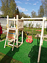Детская площадка Савушка Мастер-6 с качелями, фото 3