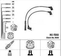 Свечные провода 9091921156 Cowtotal/TY Corolla AE80 4AL