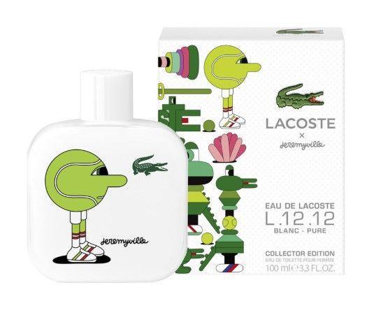 Lacoste Eau de Lacoste L.12.12 Blanc Pure Collector Edition Pour Homme Jeremyville туалетная вода объем 1,2 мл