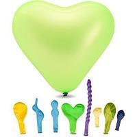 Воздушные шарики фигурные 1111-0364 8 шт. в упаковке