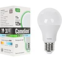 Эл. лампа светодиодная Camelion А60/4500К/E27/15Вт, Холодный