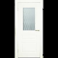 Межкомнатная дверь - ДЛ 505 ПО Орех - Экошпон