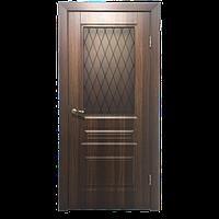 Межкомнатная дверь - ДЛ 505 ПО Крем - Экошпон