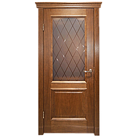 Межкомнатная дверь - ДЛ 210 ПО - Натуральный шпон