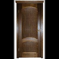 Межкомнатная дверь - ДЛ 220 ПГ - Натуральный шпон