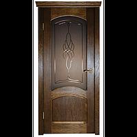 Межкомнатная дверь - ДЛ 220 ПО - Натуральный шпон