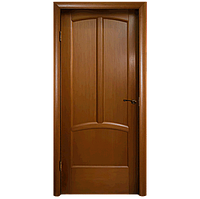 Межкомнатная дверь - Ветразь ПГ Орех- Натуральный шпон