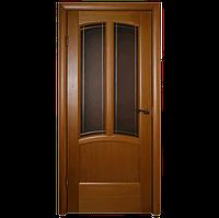 Межкомнатная дверь - Ветразь ПО Орех - Натуральный шпон