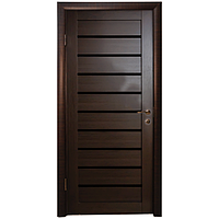 Межкомнатная дверь - Техно 9 Венге - Экошпон
