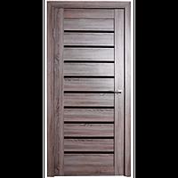 Межкомнатная дверь - Техно 9 Дуб серый - Экошпон