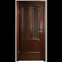 Межкомнатная дверь - Ветразь ПО Венге - Натуральный шпон